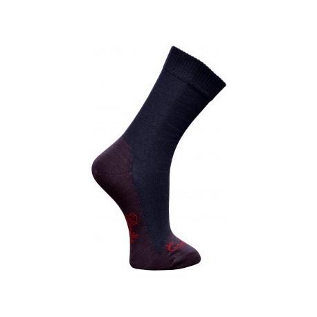 Chaussettes cachemire marine-Berthe aux grands pieds