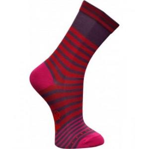 Chaussettes fil décosse rouge-raisin-Berthe aux grands pieds