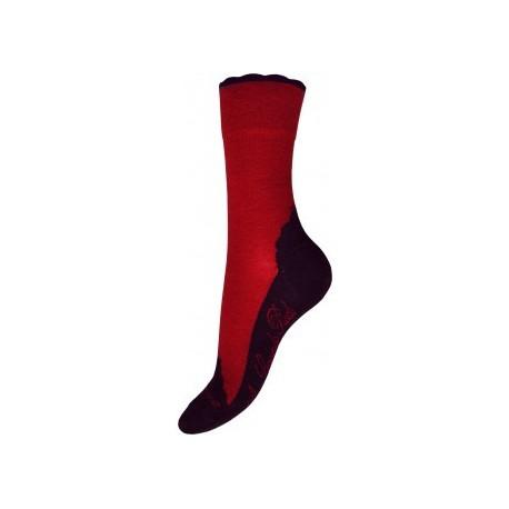 Chaussettes cachemire vulcain-Berthe aux grands pieds