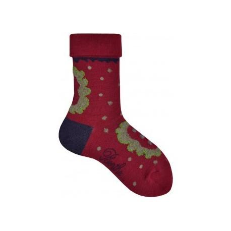 Chaussettes Nénuphar-Berthe aux grands pieds