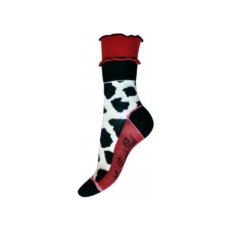 Chaussettes vache fil d'écosse-coton-Berthe aux grands pieds