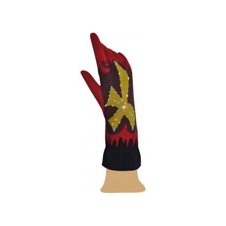 Gants coton Flammes de lenfer-Berthe aux grands pieds