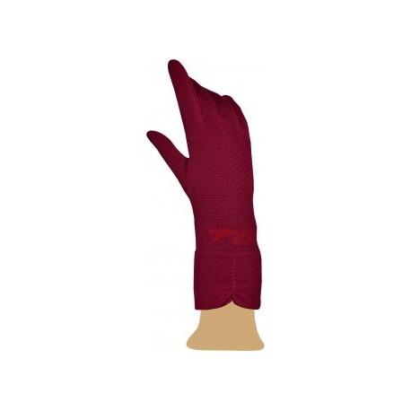 Gants en soie rose-Berthe aux grands pieds