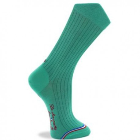 Chaussette Eiffel Turquoise