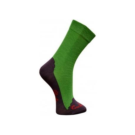 Chaussettes cachemire vert - Berthe aux grands pieds