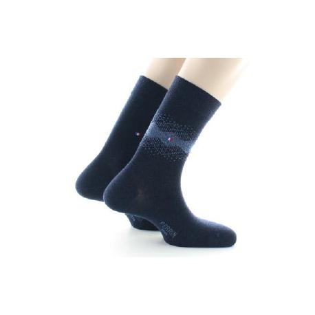 444 Laine peignée mélangée Lot de 2 paires de chaussettes Perrin